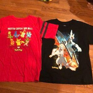 Pokémon shirt bundle